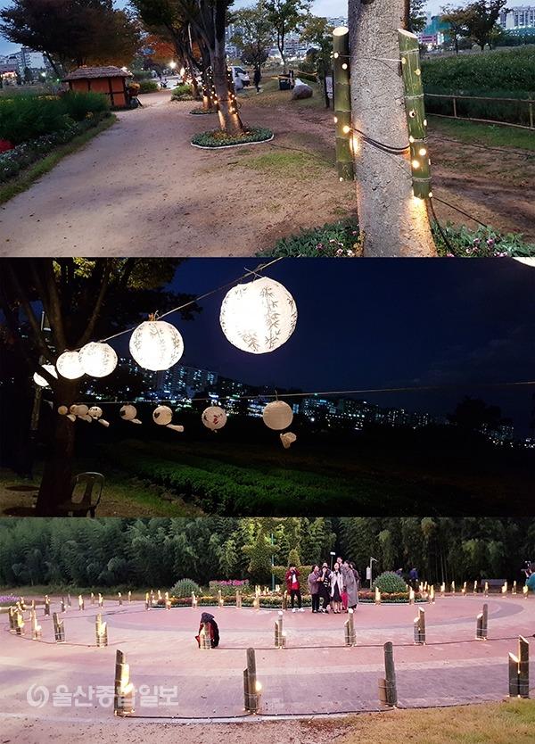 이번 행사에서는 수많은 대나무등이 환한 빛을 뿜으며 시민들에게 감동을 선사했다.